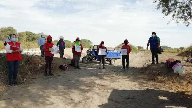 Participantes de Bernal certificaron sus competencias laborales gracias a acuerdo entre Trabaja Perú y Sencico