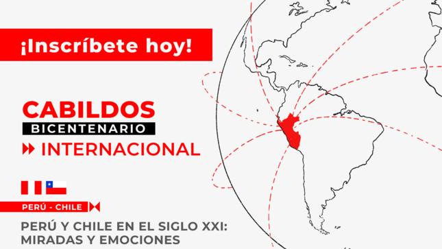 """La relación de las sociedades del Perú y Chile será tema de reflexión en """"Cabildo Internacional Bicentenario"""""""