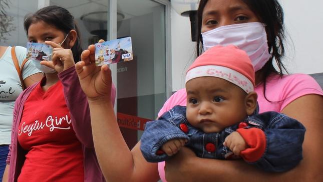 Más de 30 mil hogares del programa Juntos se benefician con segunda entrega de incentivo monetario