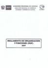 Vista preliminar de documento Reglamento de Organizaciones y Funciones - DIRCETUR