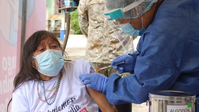 Vacunación contra la Covid-19 inicio en Amazonas