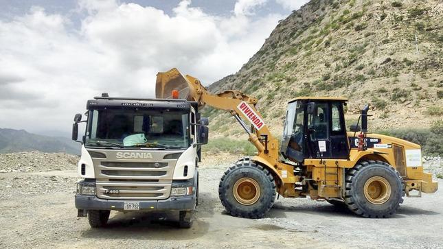 Cajamarca: Maquinaria del Ministerio de Vivienda interviene en puntos críticos de ríos y quebradas
