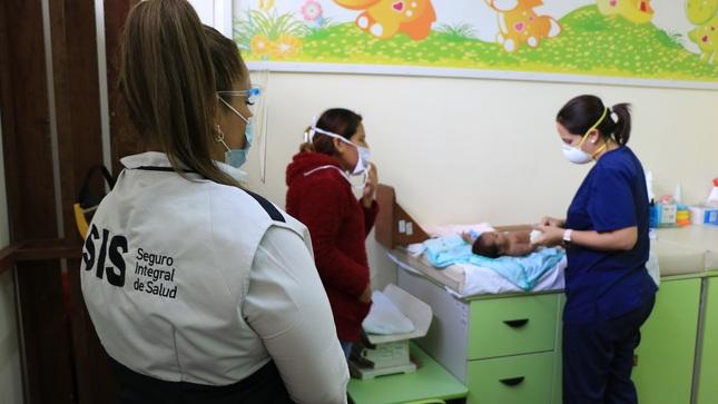 SIS recuerda que asegurados pueden atenderse en cualquier establecimiento de salud de primer nivel del Minsa