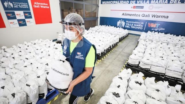 Midis brindará apoyo alimentario a 1537 ollas comunes de Lima y Callao en articulación con gobiernos locales