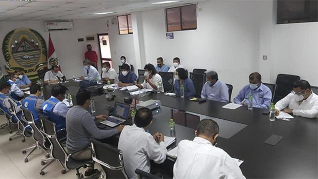 Empresa constructora de Hospital Regional presentará cronograma entrega de pabellones para camas COVID-19
