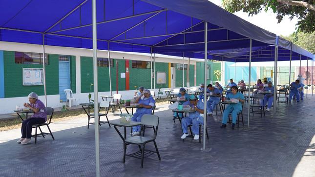 Inauguran el nuevo comedor para los trabajadores del Hospital Nacional Hipólito Unanue