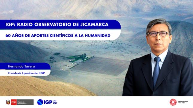 Columna de Opinión: Radio Observatorio de Jicamarca, 60 años de aportes científicos a la humanidad