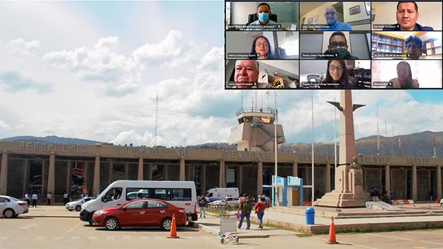 Ositrán: Usuarios fueron informados del estado situacional del aeropuerto y carretera en Cusco