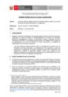 Vista preliminar de documento OC Nº14-2021-JUS/DGTAIPD - Sobre las obligaciones de los partidos políticos respecto a la Ley de Protección de Datos Personales y su reglamento