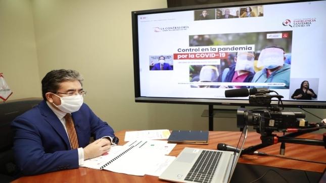 En más de 61% de situaciones de riesgo advertidas por Contraloría en manejo de pandemia COVID-19 autoridades responsables no tomaron medidas