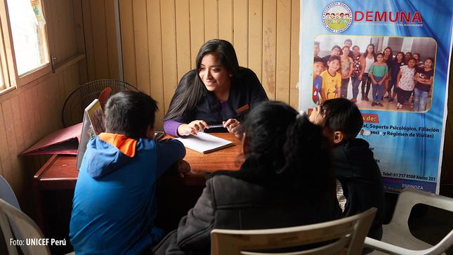 UNICEF presenta logros de proyectos desarrollados  en contexto de pandemia