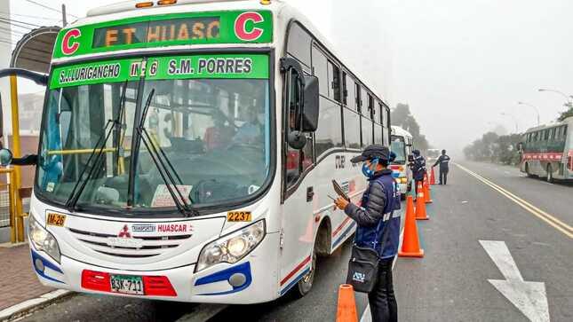 ATU prorroga por 6 meses las autorizaciones para el transporte urbano y de taxis