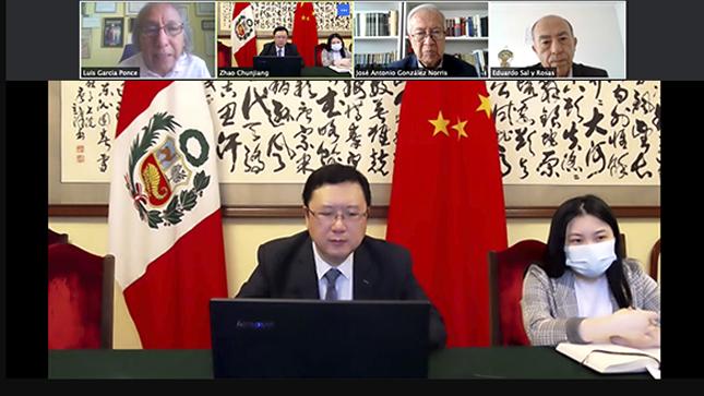 APCI y Embajada China revisan estado de  los proyectos de cooperación