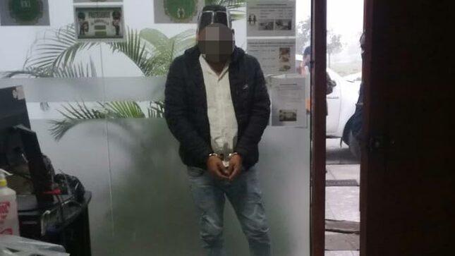 Ministerio Publico y Policía Nacional detuvieron dos presuntos