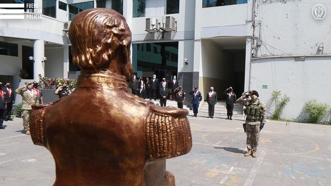 Honor y gloria al Coronel José Gálvez, Héroe Nacional y Patrono del FMP