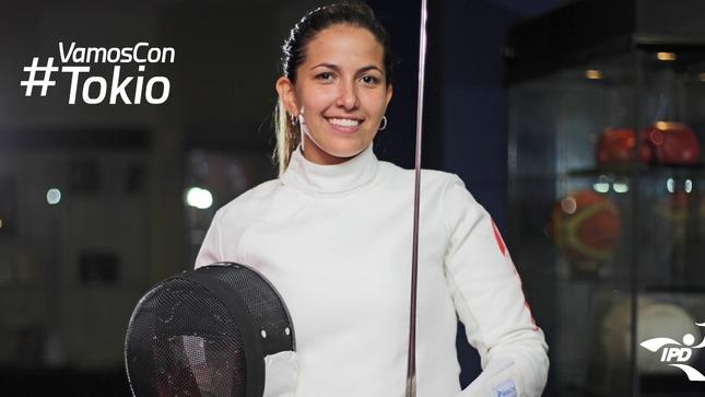 María Luisa Doig logra clasificación a Tokio 2020 en el deporte de Esgrima