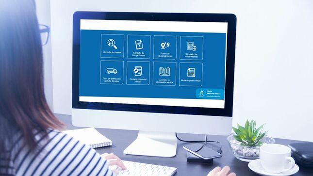 Sedapal atendió a más de 3.8 millones de usuarios a través de su plataforma virtual