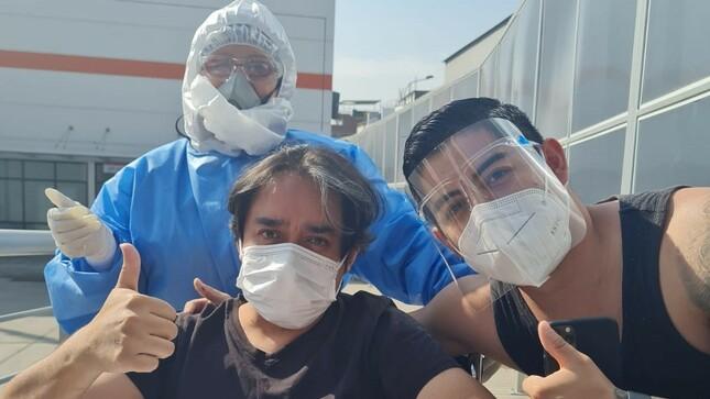 Aguerrido Ateño supera la COVID-19 la Unidad de Cuidados Intermedios del Hospital Emergencia Ate Vitarte