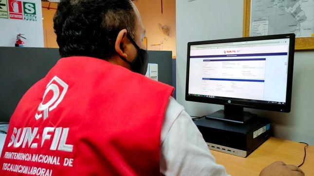 Notificaciones de SUNAFIL enviadas a empresas vía casilla electrónica superan las 113 mil desde el inicio de año