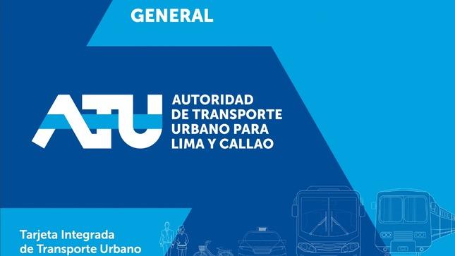 ATU presenta modelo de tarjeta de pago sin contacto que integrará los servicios de transporte urbano