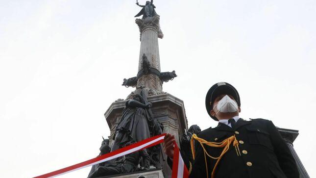 Ministra de Defensa pidió la unión de los peruanos para vencer la pandemia siguiendo el ejemplo de los héroes