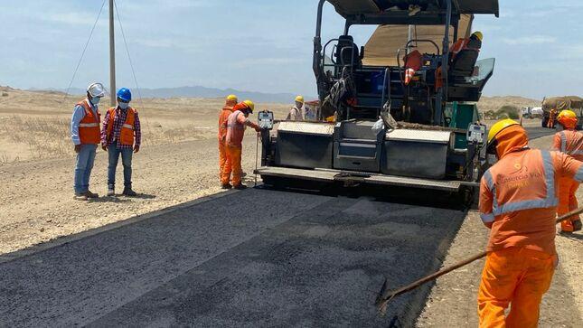 Gore Piura mejora infraestructura vial de la región, con construcción de La Costanera