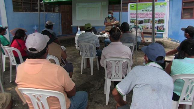 Goremad inicia recuperación de áreas degradadas por la minería ilegal en la provincia del Manu