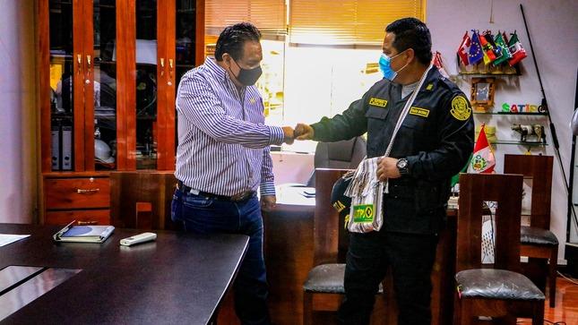 Satipo: alcalde se reúne con nuevo jefe policial para tomar acciones en temas de seguridad