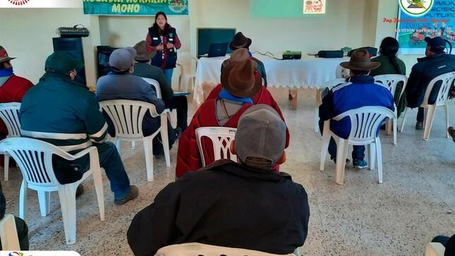 Convenio Con La Agencia Agraria, Realizó Capacitación A Productores Pecuarios