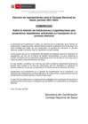 Vista preliminar de documento Comunicado sobre el proceso de elecciones del Consejo Nacional de Salud