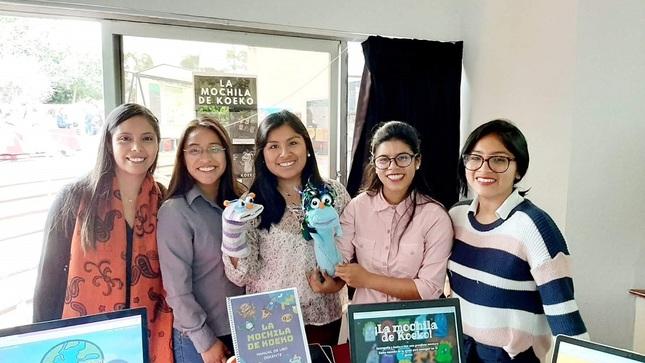 Estudiantes de Educación crean plataforma web gratuita que fomenta el autoestudio en los niños