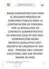 Vista preliminar de documento Concurso Público CAS N° 003-2021-GOREMAD/GSR-MANU
