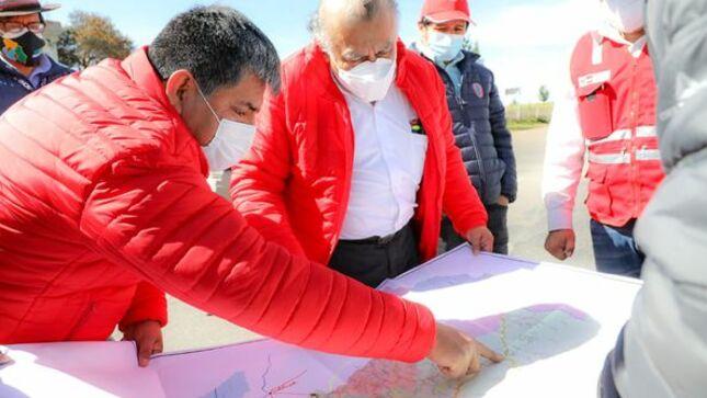 Vía del Bicentenario será una realidad e integrará las provincias de Cangallo, Fajardo y Sucre