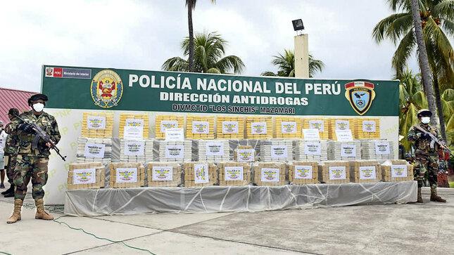 Sucamec dona explosivos a la Dirandro para la lucha contra el tráfico ilícito de drogas