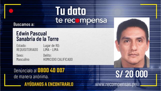 #TuDatoTeRecompensa: Se busca a dos sentenciados por crimen de empresaria