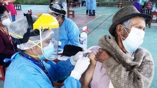 Apurímac es la tercera región del país en avance de inmunizaciones