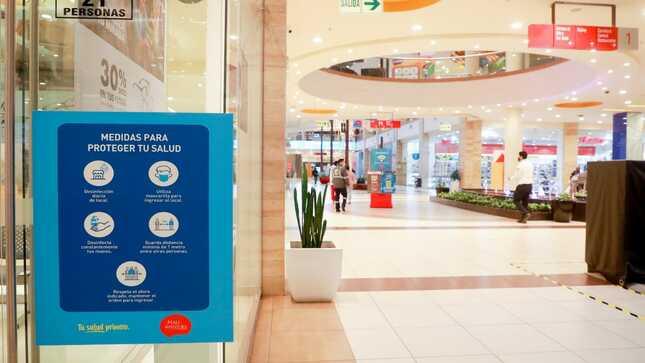 Clientes podrán revisar desde sus casas o celulares los aforos en tiempo real de los centros comerciales