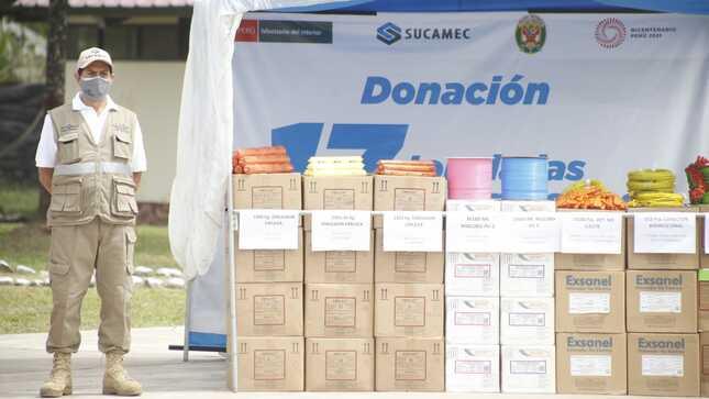 Sucamec destina 17 toneladas de explosivos a favor de la lucha contra el narcotráfico