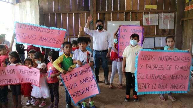 361 Nuevas Plazas de Docentes para la Región Amazonas