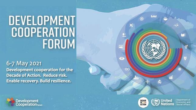 APCI participa en Reunión de Alto Nivel  del Foro de Cooperación para el Desarrollo