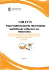 Vista preliminar de documento Reporte de Indicadores Identificados Medición de la Gestión por Resultados