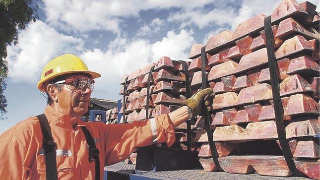 Seis de los ocho principales metales del país incrementaron su producción en el primer trimestre