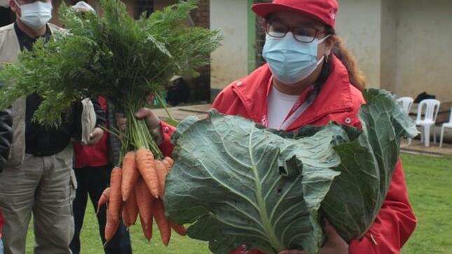 Proyectos productivos Haku Wiñay en distrito de Usquil supervisó ministra del MIDIS