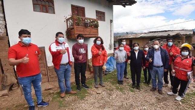 Ministra Silvana Vargas supervisó en La Libertad intervenciones del apoyo alimentario y la protección social a población vulnerable