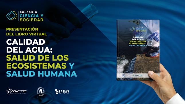 Concytec presenta libro virtual sobre la calidad del agua