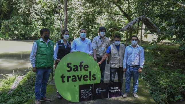 Parque Nacional Tingo María recibe sello internacional Safe Travels como destino turístico seguro