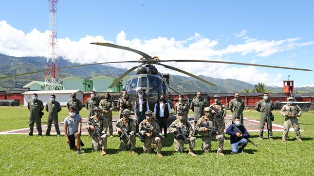 Presidente Sagasti destaca entrega, sacrificio y éxito de las FF.AA. en la lucha contra el narcotráfico y terrorismo