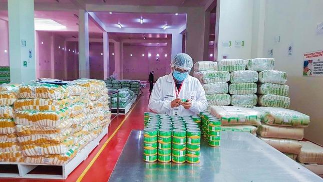 Apurímac: Qali Warma verifica calidad de alimentos que forman parte de tercera entrega