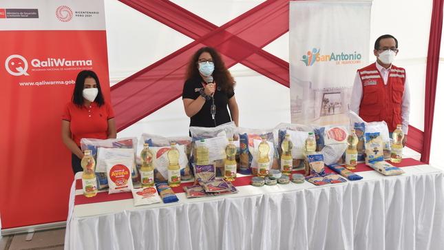 Midis ya entregó a través de Qali Warma cerca de 500 toneladas de alimentos a municipios de Lima, Callao e interior del país