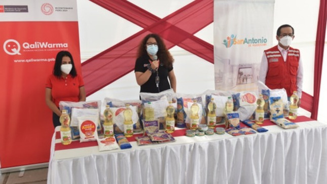 Midis ya entregó a través de Qali Warma casi 500 toneladas de alimentos a municipios de Lima y del interior del país para ollas comunes